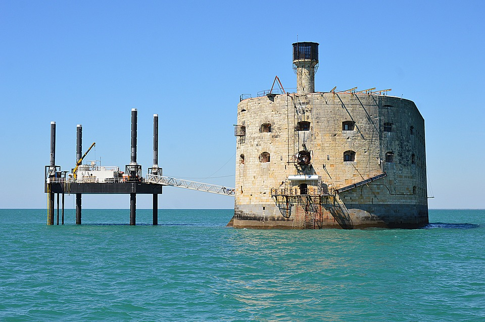 Fort Boyard, Fort, The Rochelle, France, Architecture