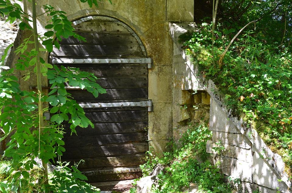 Door, Fort, Wall, Travel, France