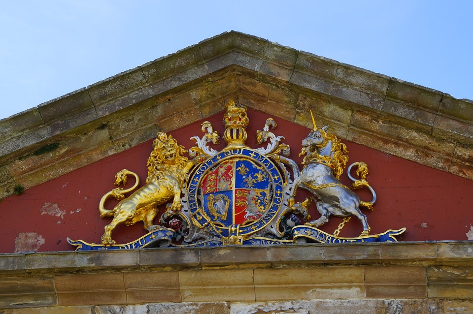 Fort George, Coat Of Arms, Lion, Unicorn