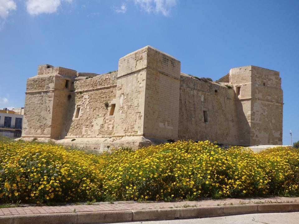 Marsascala, Malta, Castle, Tower, Fort, Coastal, Europe