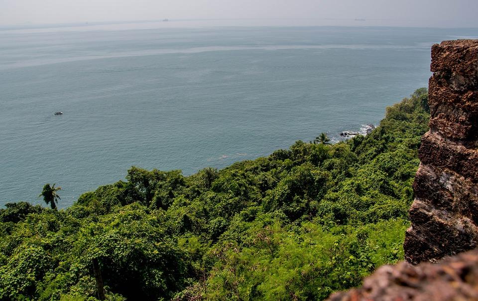 Fort, Sea, Water, Nature, Scenic