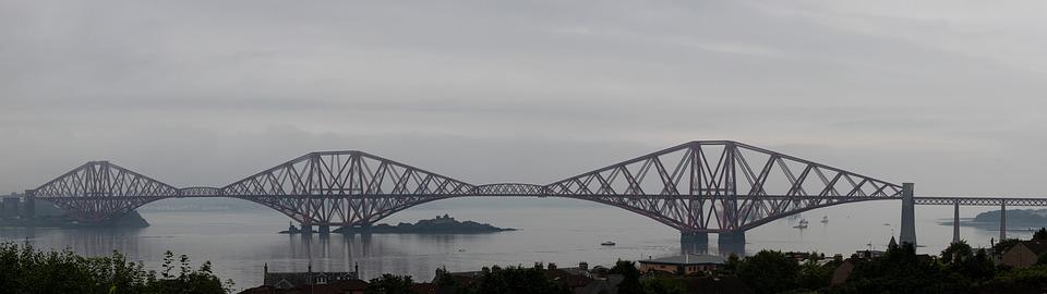 Forth Bridge, Scotland, Bridge