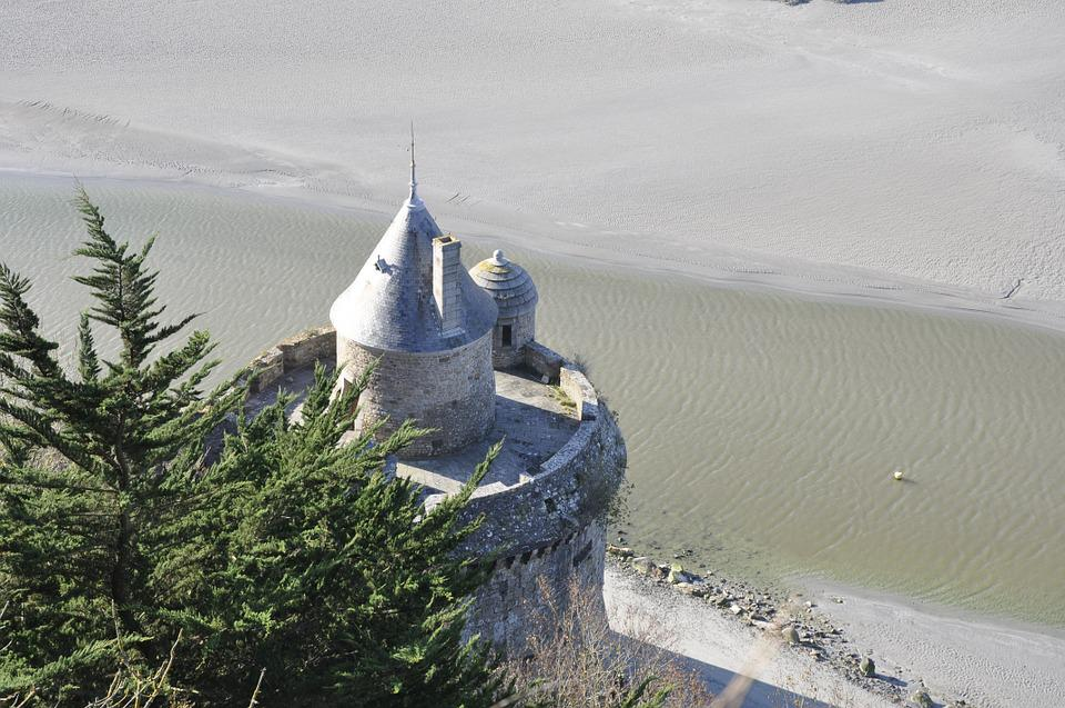 Mont Saint Michel, Fortification, Pierre, Keep, France