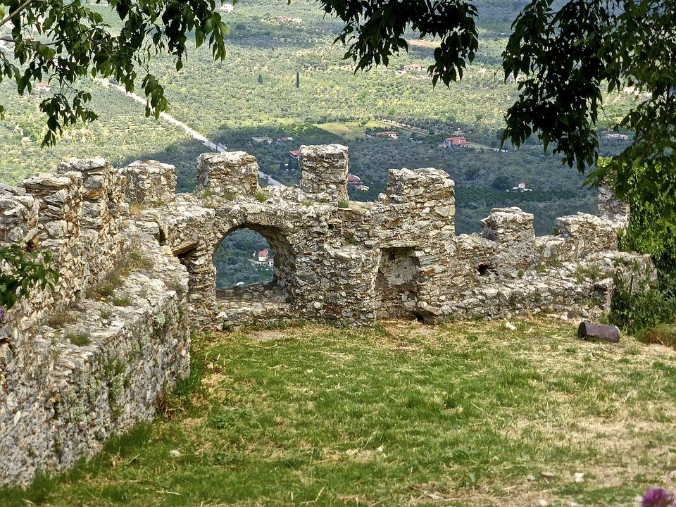 Fortification, Wall, Historical, Medieval, Fortress