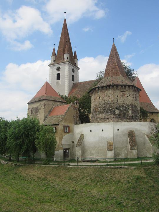 Cristian, Transylvania, Romania, Fortified Church