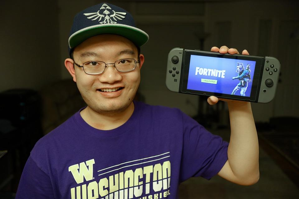 Gamer, Fortnite, Nintendo, Switch, Video Game
