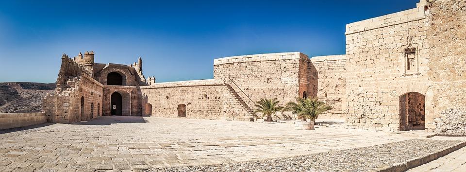 Alcazaba, Almeria, Fortress, Andalusia, Architecture