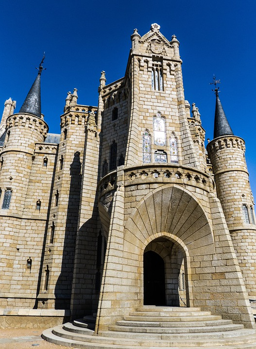 Gaudí, Astorga, Castle, Palace, Architecture, Fortress