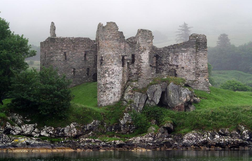 Castle, Ruin, Old, Fortress, Fort, Fortification