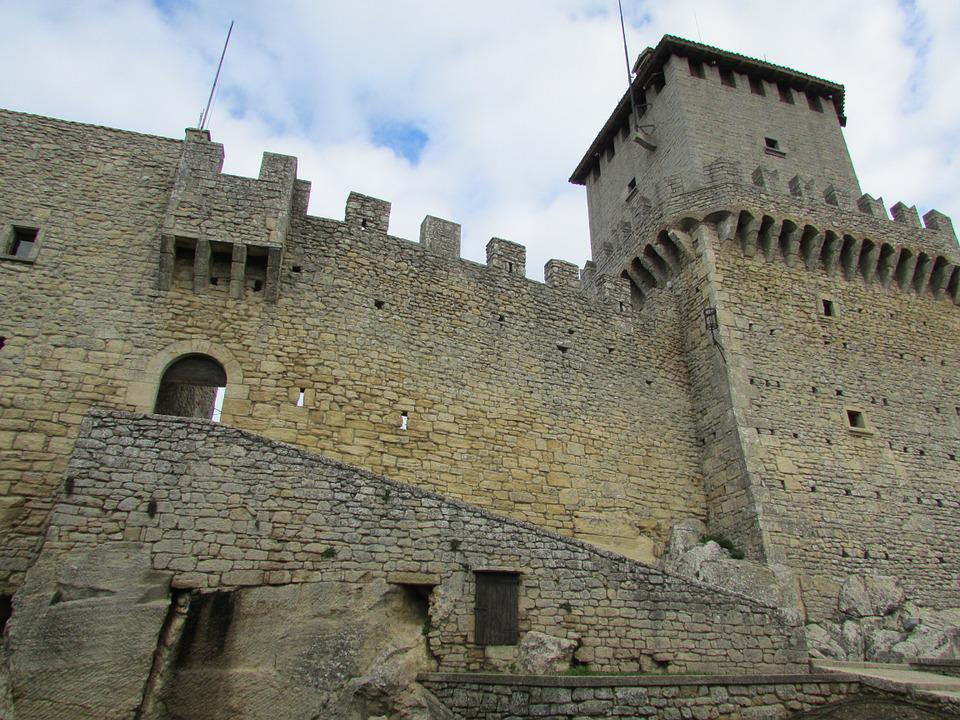 Castle, Medieval, Fortress, Italian, Historical