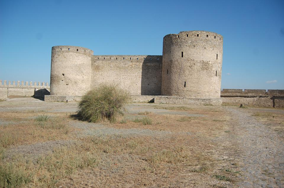 Fortress, Castle, Architecture, Building, History, Day
