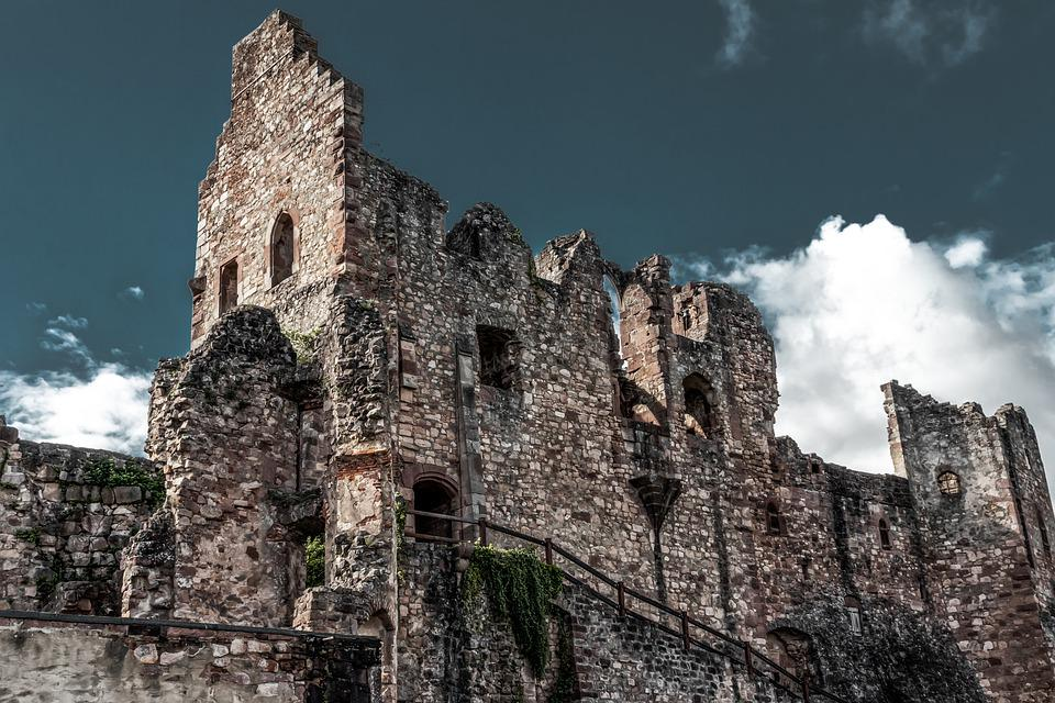 Ruin, Castle, Burgruine, Middle Ages, Fortress, Masonry