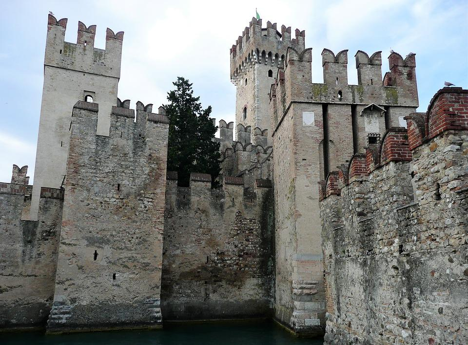 Gothic, Palazzo, Architecture, Old, Fortress, Castle