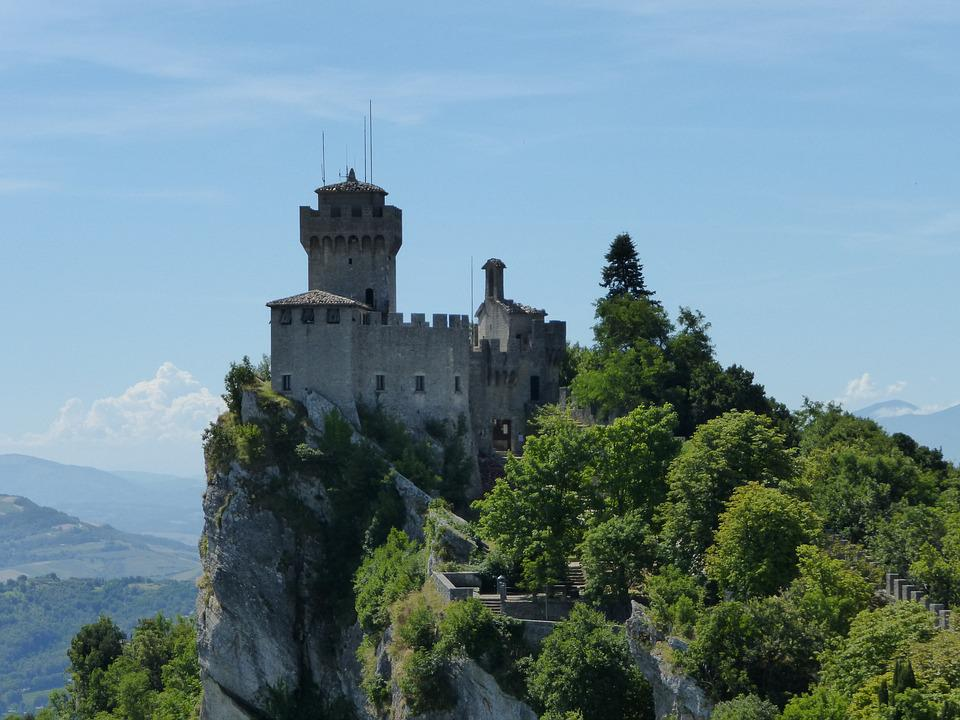 San Marino, Castle, Architecture, Stronghold, Fortress