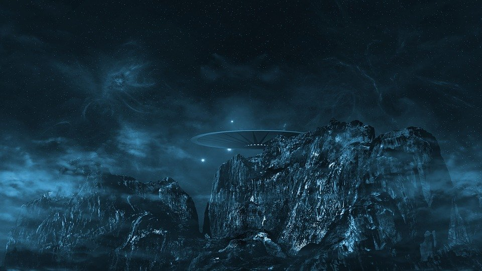 Ufo, Cosmos, All, Forward, Alien, Cover