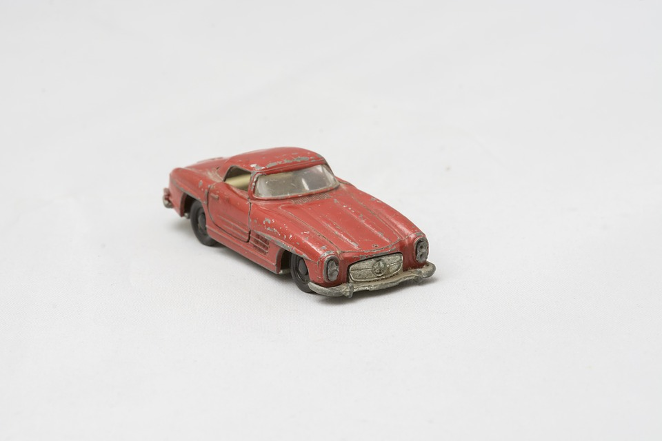 Mercedes Sl300, Matchbox, Found In The Cellar, Memory