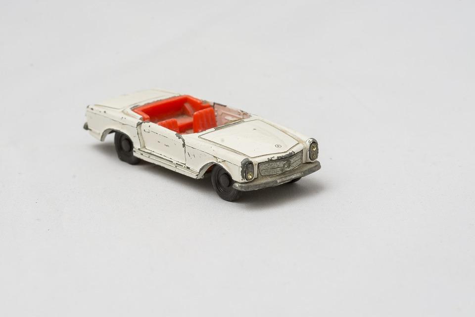 Mercedes, Accident, Matchbox, Found In The Cellar