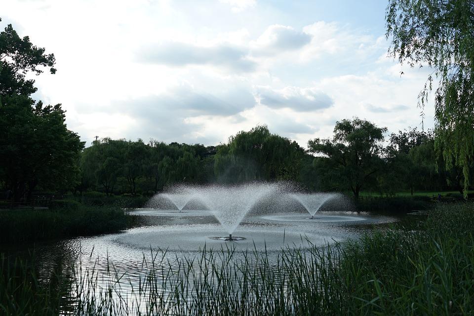 Yongsan Family Park, Fountain, Fountain Garden