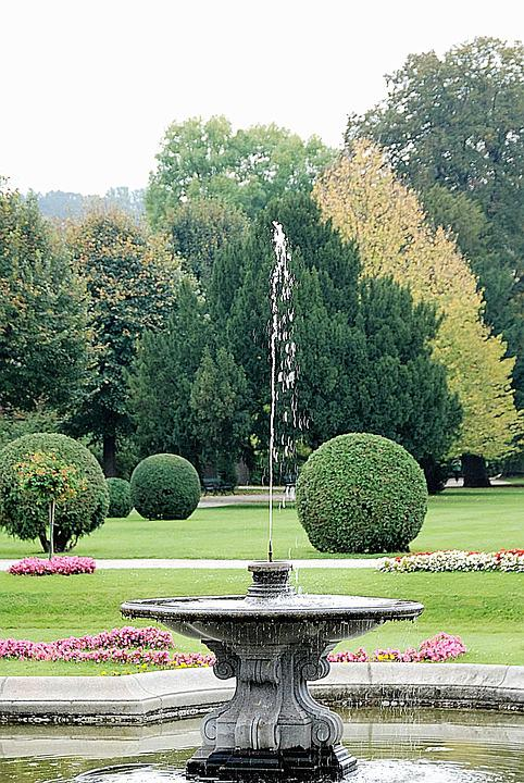 Fountain, Water Fountain, Park
