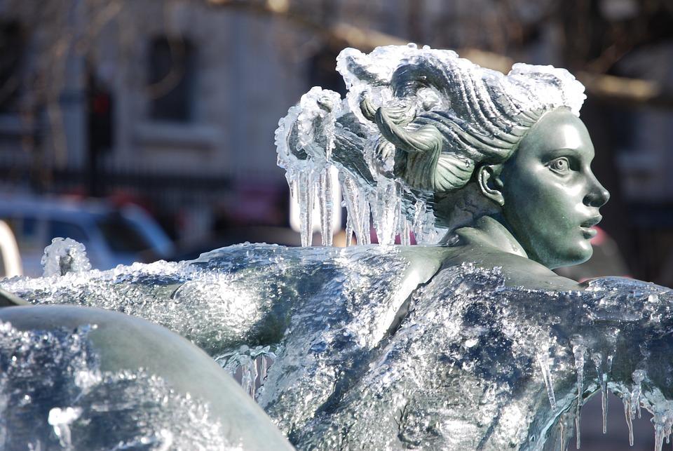 Fountain, Trafalgar Square, Public Space
