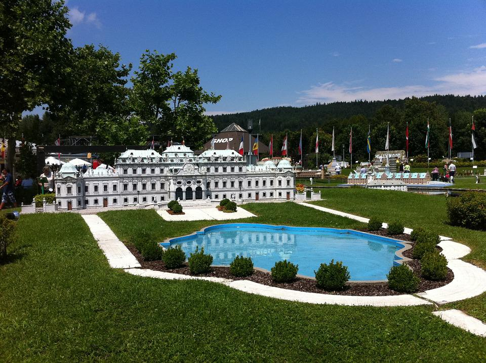 Palace, Summer, Fountain