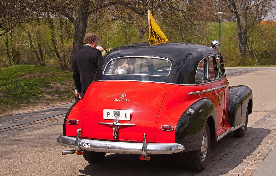 Four, Engine, Car, Veteran, Vehicle, Danish, Denmark