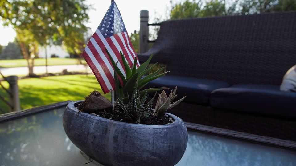 Fourth Of July, Nature, Fourth, July, America, Blue