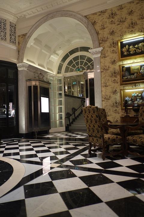 Hotel, Foyer, Lobby, Savoy
