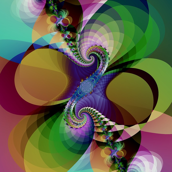 Fractal, Artwork, Abstract, Background, Pattern, Design