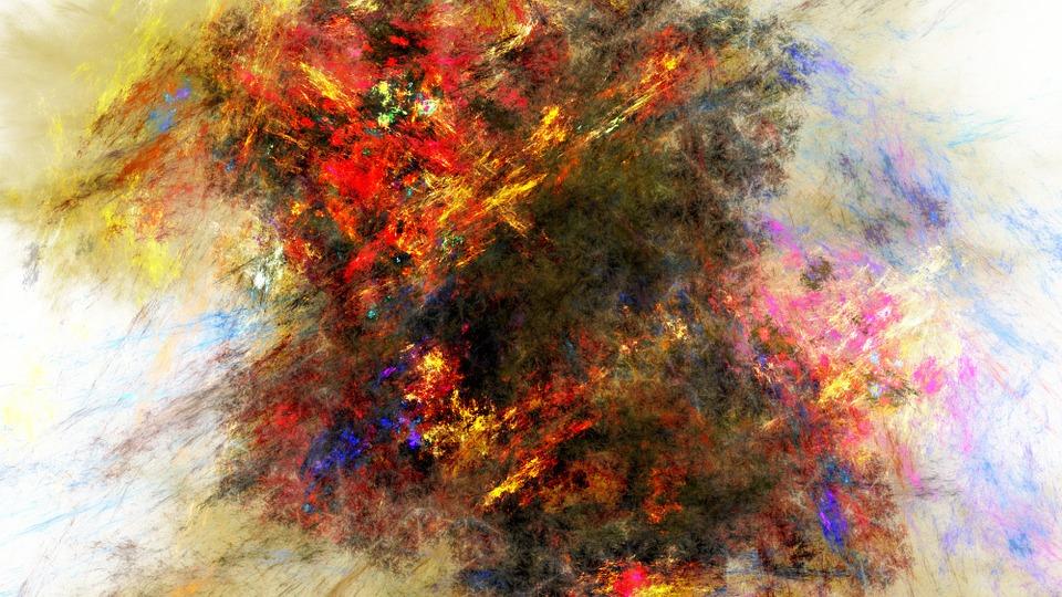 free photo fractal color paint math canvas cool stroke max pixel