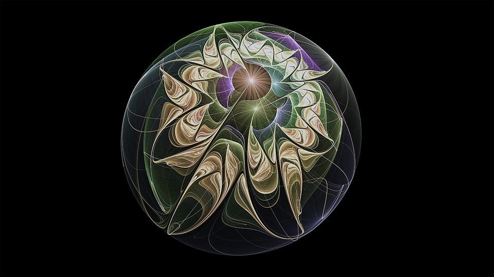 Fractal, Sphere, Fractal Art, Pattern, Circle