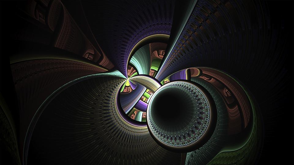 Fractal, Fractal Art, Multi-color, Abstract, Pattern