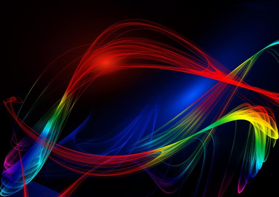 Abstract, Line, Wave, Design, Pattern, Fractal, Energy