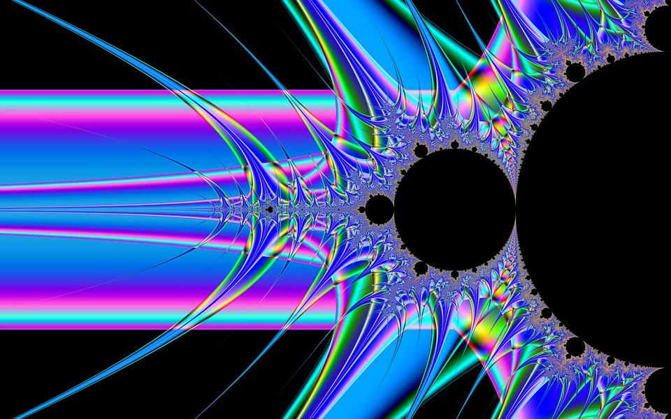 Fractals, Abstract Art, Art, Artwork, Modern Art, Blue