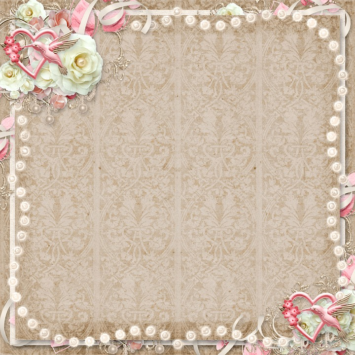 Free photo Frame Background Baby Girl Retro Paper Texture - Max Pixel