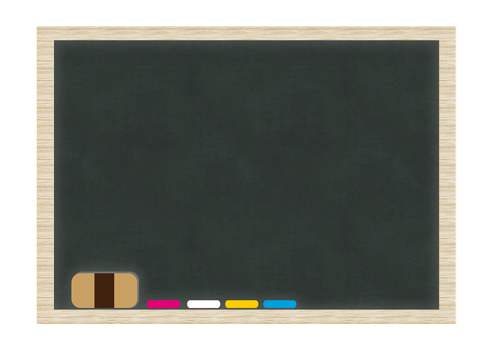 Chalkboard, Frame, Copy Space, Blank, Blackboard