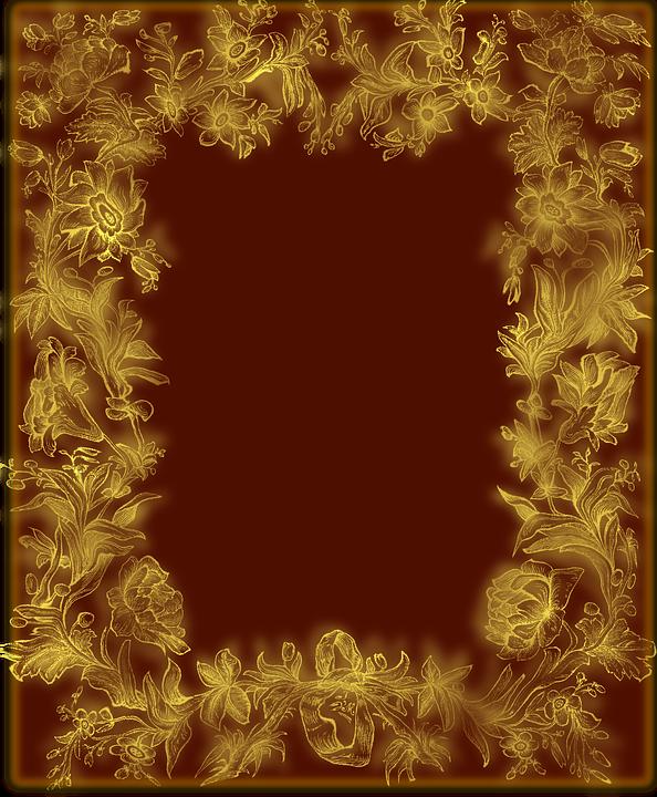 Frame, Flowers, Framework, Border, Floral