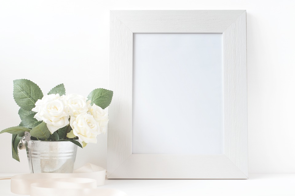 Free photo Frame Card Blank Canvas Paper Picture Flower - Max Pixel