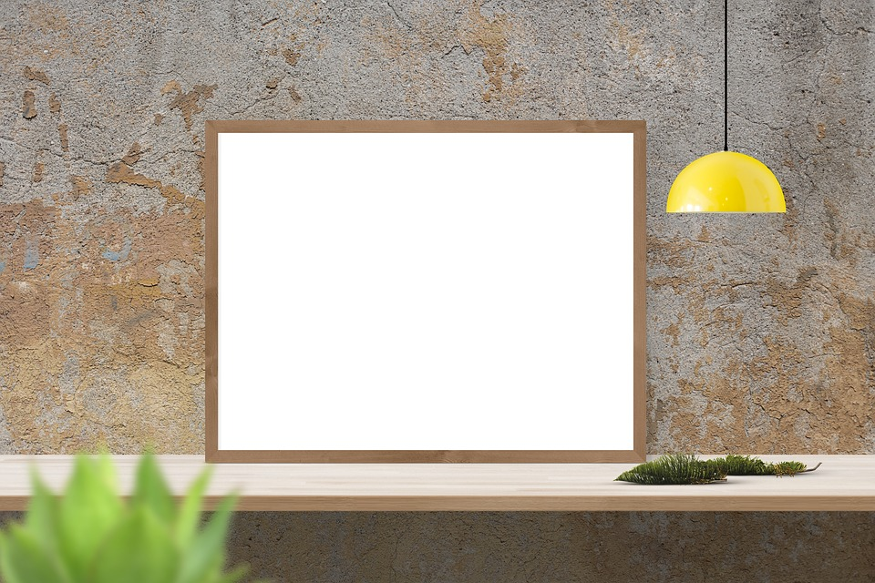 free photo frame mockup mock template poster wall interior max pixel