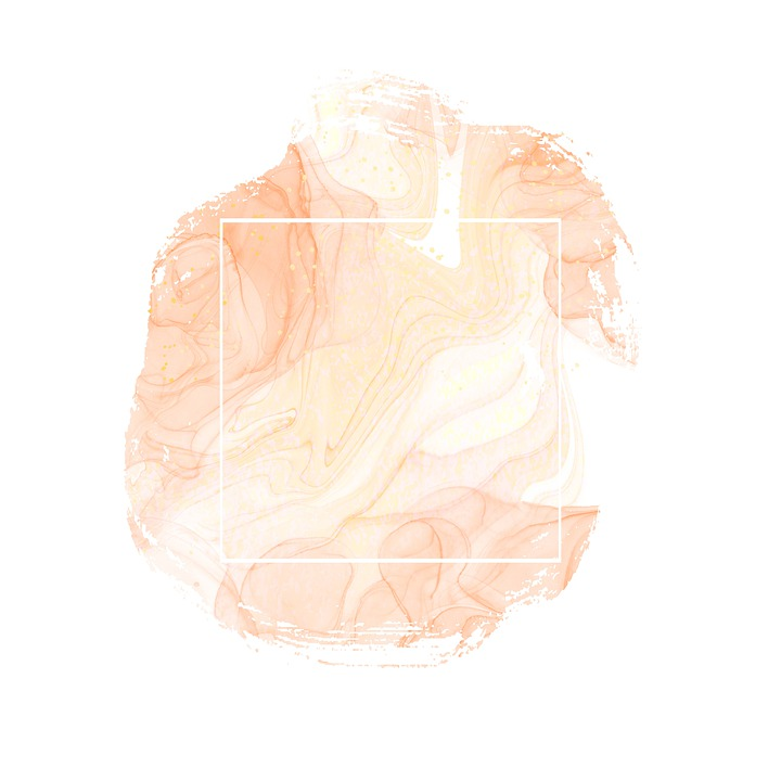Marble, Frame, Background, Pink, Apricot, Pattern, Art