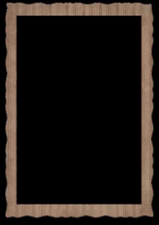 Cardboard, Vintage, Photo, Frame