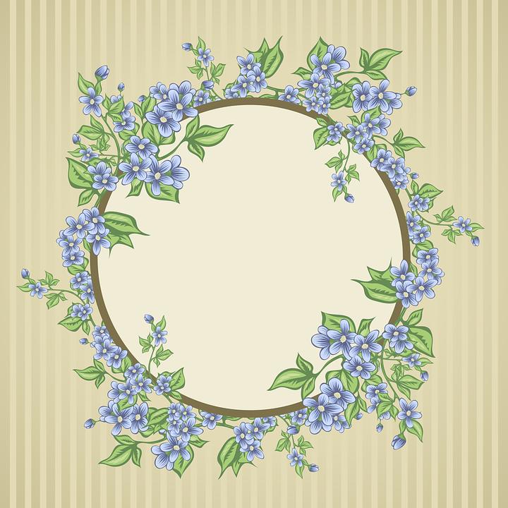 Postcard, Flowers, Bouquet, Frame, Flower, Desktop