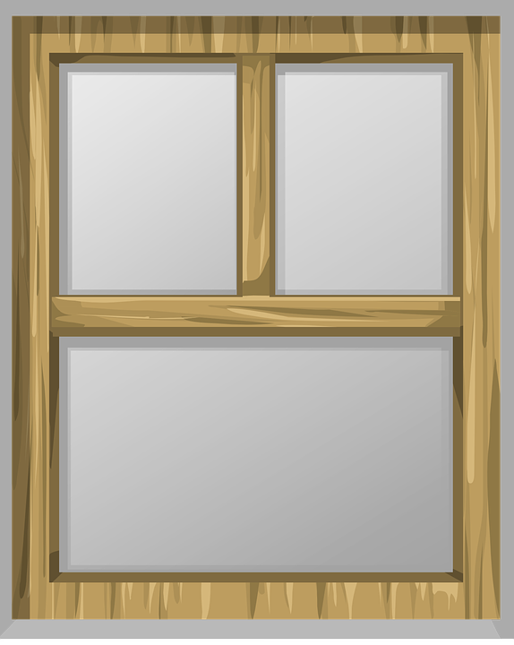 Window, Panes, Glass, Frame, Wood, Wooden, Transparent