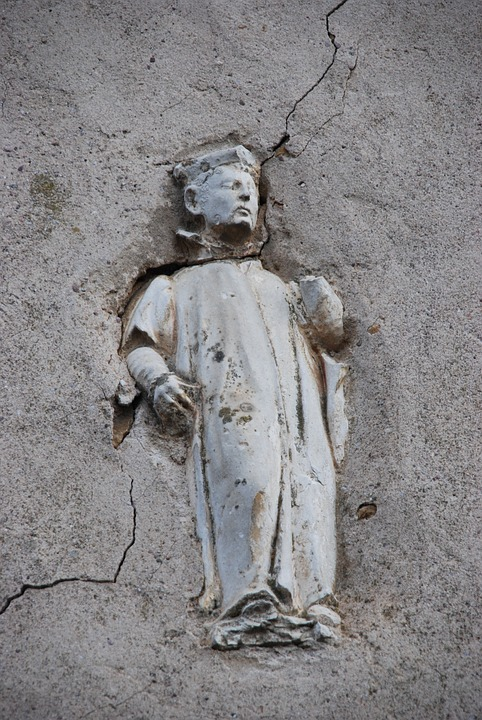 Image, Art, Religion, Wall, Sculpture, France