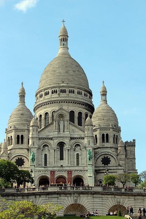 Sacred Heart, Paris, Monument, Basil, History, France