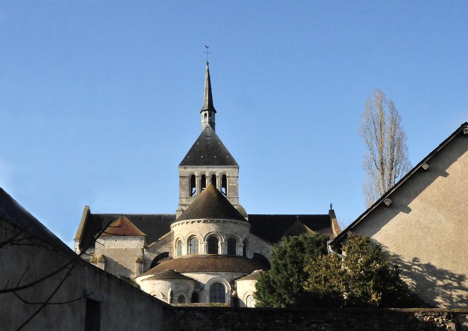 Germigny Meadowsweet, France, Basilica, Religion