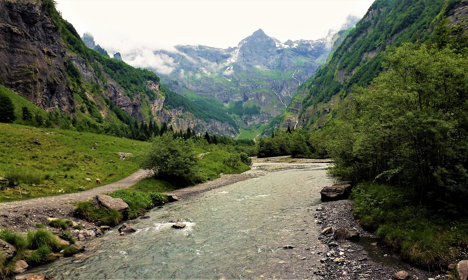 Nature, France, Alps, Mountain, Body Of Water