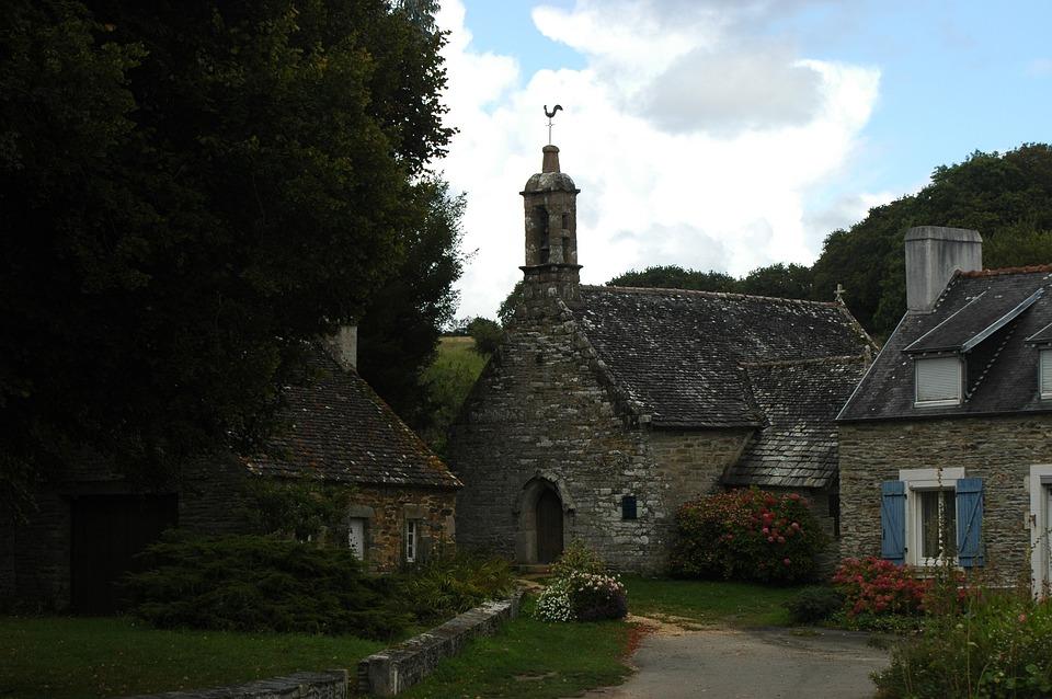 Chapel, Church, Small Church, Brittany, France