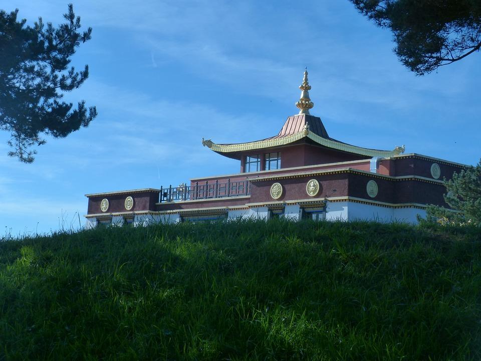 Buddhist Temple, Biollet, Auvergne, France