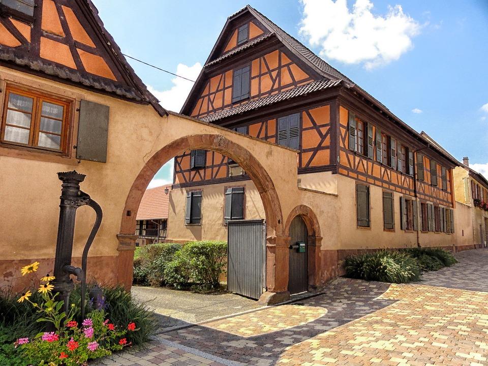 Wingersheim, France, Houses, Buildings, Apartment